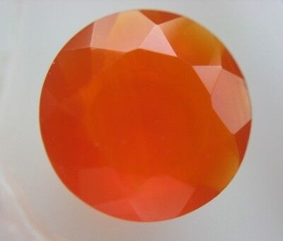 KARNEOL  -  ROUND FACET  -  13,8 mm  -  8,56 ct.