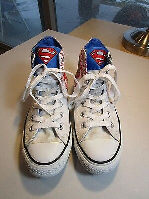 Converse All Star Chuck Taylor Superman High Top Sneakers Size Women's 7 Men's 5