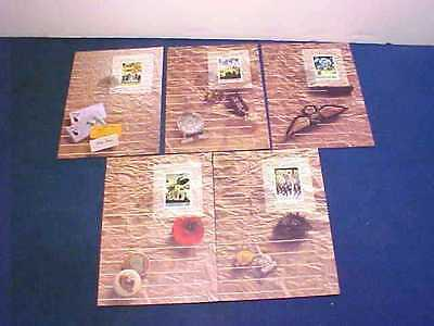 Australia 1990 First Day Cover Postcards Set The Anzac Tradition War Memorial