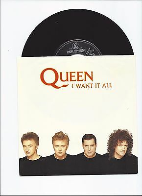 Queen Original Single I Want It All From Germany