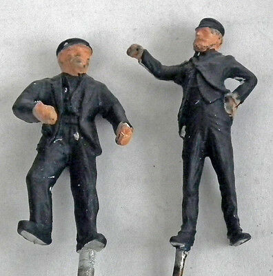 7mm O gauge 1/43rd scale figures of Loco Crew- Omen Miniatures limited range