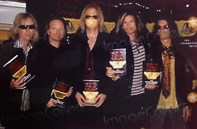 Aerosmith 5X Signed Autographed 1St Edition Walk This Way Book With Photo Proof