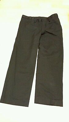 Boys School Black  Pants Aged 12 Years -Bhs