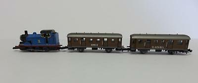 Prototype ? Marklin Z Thomas the Train 0-6-0 Tank Loco with 2 Passenger Cars