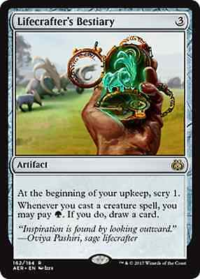 Magic The Gathering Aether Revolt Lifecrafter's Bestiary x4