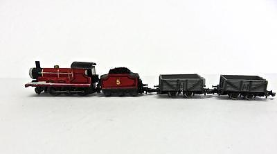 Prototype? Marklin Z Gauge Thomas the Train 2-6-0 Loco Tender & 2 Ore Cars NoRes