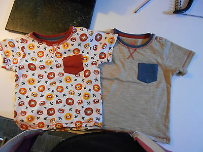 2 x Boys Tops by TU at Sainsburys - Age 18/24 Months