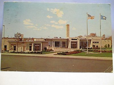 """1970 Adv Postcard  """" Holiday House """" Restaurant Along The Connecticut Turnpike"""