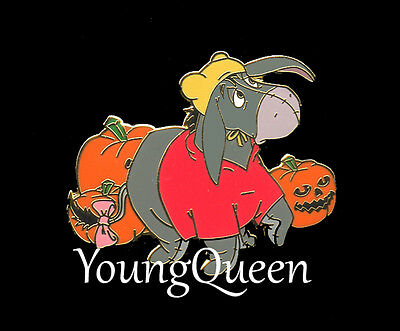 Disney Direct Eeyore Dressed as Pooh for Halloween Tombstone Le Pin