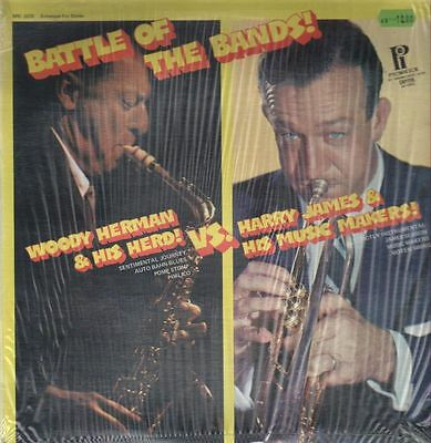 Woody Herman, Harry James Battle Of The Bands! NEAR MINT Pickwick Vinyl LP