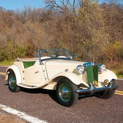 1952 MG T-Series TD Roadster  1952 MG TD Roadster, Fully restored, New Top and Curtains, Lots of Paperwork