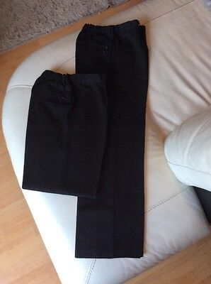 Boys School Trousers 10 years M&S black