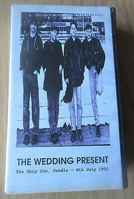 THE WEDDING PRESENT Live At The Ship Inn, Oundle 1992 VIDEO indie c86 john peel