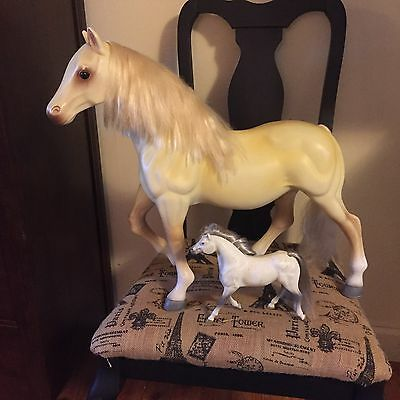 """Gorgeous X Large Beige Toy Horse/21""""x20""""/Small Horse/Well Made/ Made/Collectors!"""