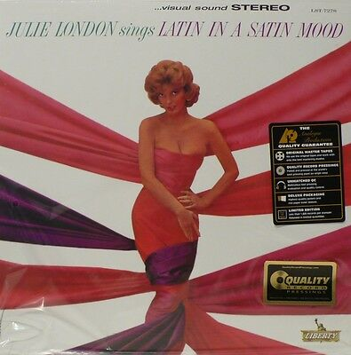 Julie London - Quality Records - App-7278 - Sings Latin In A Satin Mood