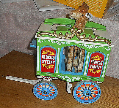 Steiff Golden Age of the Circus Limited Edition GIRAFFE w/wagon
