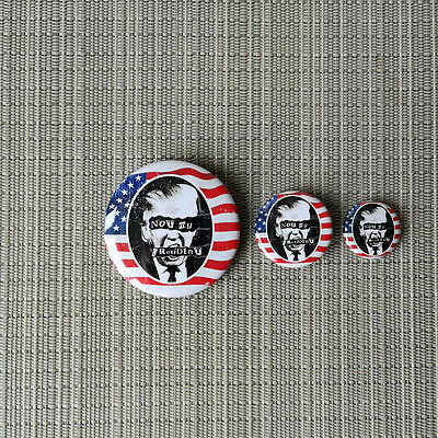 ANTI TRUMP #NOT MY PRESIDENT PROTEST BUTTON PIN BADGE / 25mm / 32mm / 56mm