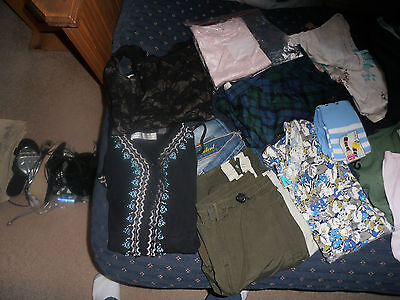 Large lot Jr Girls Clothing Size S Plus Free Kenneth Cole Bag