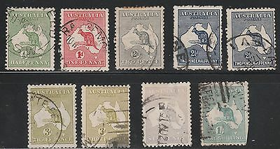 Kappysstamps 5594 Small Australian Collection Roos