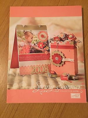 STAMPIN' UP! 2008 Spring-Summer IDEA BOOK AND CATALOG