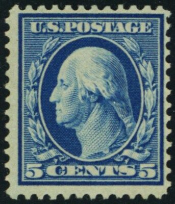 361, Mint VF VLH 5¢ Bluish Paper Very Fresh With PFC Certificate - Stuart Katz