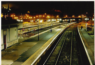 Stirling Railway Station At Night 2004 Postcard Un-Posted