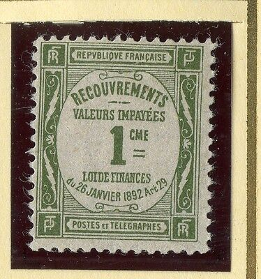 Stamp / Timbre De France Taxe Neuf Sans Gomme N° 43