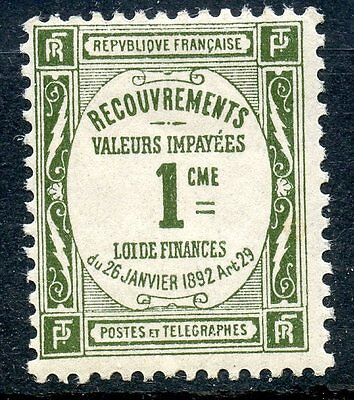Stamp / Timbre De France Taxe Neuf N° 43 **