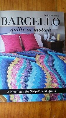Bargello quilts in motion Quilting book