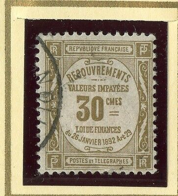 Stamp / Timbre De France Taxe Oblitere N° 46