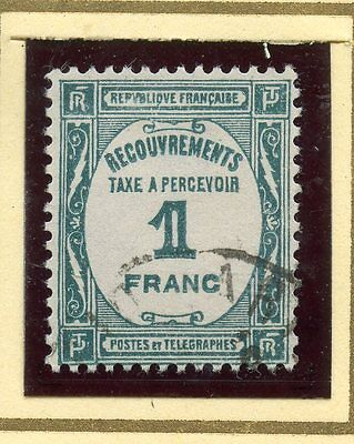 Stamp / Timbre De France Taxe Oblitere N° 60