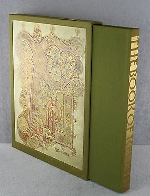 The Book Of Kells Francoise Henry Alfred A. Knopf New York 1974 Illustrated Exc.