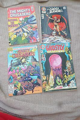 3 Rare joblot 4 Vintage 60s US Comic Archie MIGHTY CRUSADERS,GHOST MANOR,HAUNTS