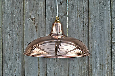 Beautiful vintage styled copper ceiling light hanging lamp shade pendant NCG3