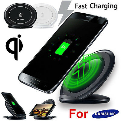 Fast Charger Qi Wireless Charging Stand Dock Lot for Samsung Galaxy S7/S7 edge
