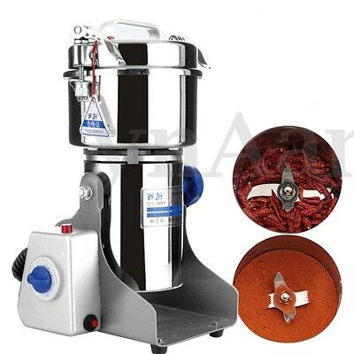 800G Electric Coffee Bean Nut Spice Grinder Mill Grains Food Grinding Machine