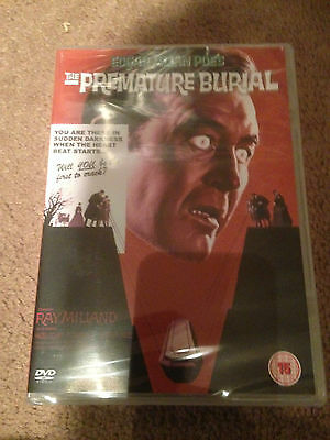 The Premature Burial    Dvd  New/sealed    Ray Milland