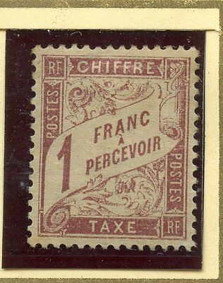 Stamp / Timbre De France Taxe Neuf Sans Gomme N° 40A