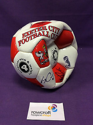 Exeter City Football Club SIGNED Football