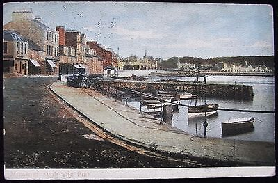 Old Postcard - Millport From The Pier, Ayrshire, Scotland - 1905