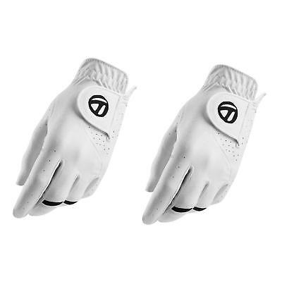 TaylorMade Golf 2017 All Weather 2 Pack Mens Left Hand Golf Gloves