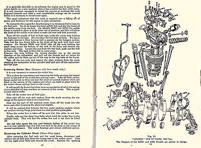 VELOCETTE  MANUAL  FOR 350cc MAC MODEL ON CD, PLUS HINTS & TIPS , PRINTED 1917