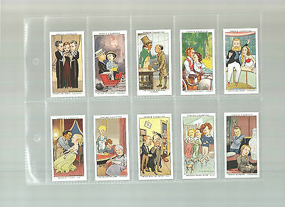 Shots From The Films - A complete set of 50 Reproduction Cards