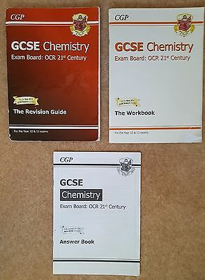 CGP GCSE OCR 21st Century Chemistry Revision Books/Guides