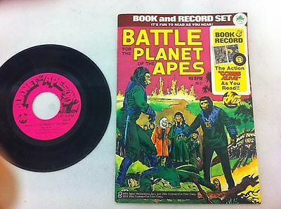 Planet of the Apes story book with 45rpm record ##MHA10JM