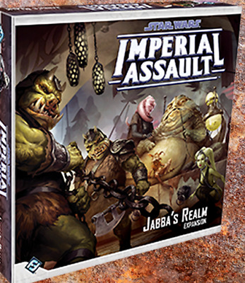 Star Wars Imperial Assault – Jabba's Realm – Figures and Deployment Cards – ...