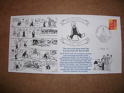 Oor Wullie 75Th Anniversay First Day Cover