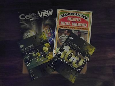 Glasgow Celtic Programmes Bundle