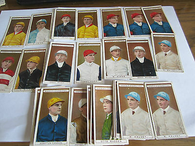 "OGDEN'S ""OWNERS' RACING COLOURS AND JOCKEYS"" [s] 1906 1/2 SET"