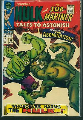 Tales To Astonish #91 VG/FN
